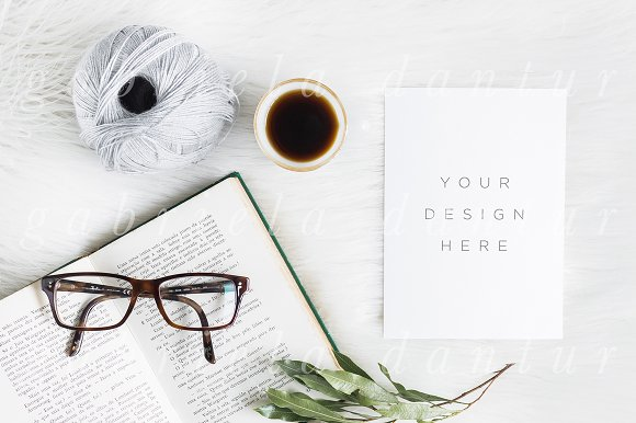Styled Stock Mockup Winter Office