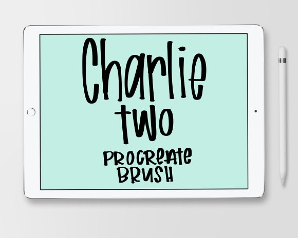 Charlie Brush For Procreate App