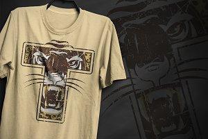 Tiger T - T-Shirt Design