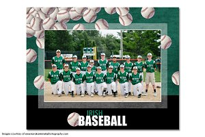 Baseball Memory Mate Template - T7