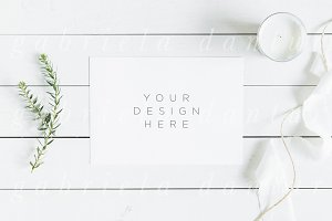 Styled Stock Mockup Simple Minimal