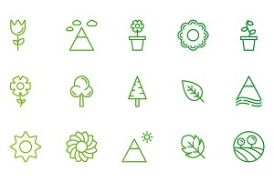 Nature and Garden Icons