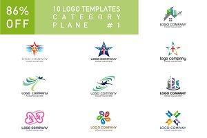 10 Logo Set - Plane