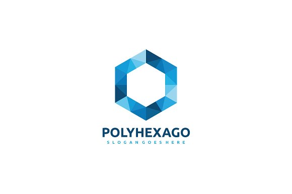 Polygon Hexagon Logo
