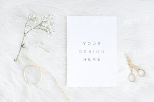 Styled Stock Mockup Delicate Simple