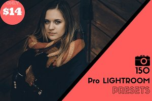150 Pro Lightroom Preset Bundle