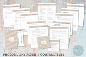 NG010 Photography Contracts & Forms