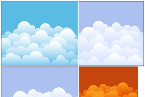Clouds Backgrounds