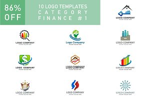 10 Logo Set - Finance