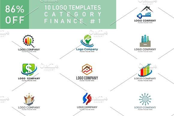 10 Logo Set Finance