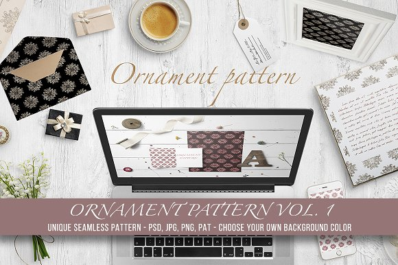 Ornament Pattern Vol 1