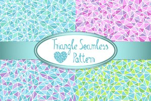 Polygon Seamless Pattern Pack
