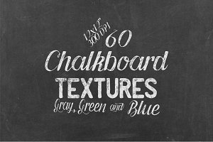 60 Chalkboard Textures