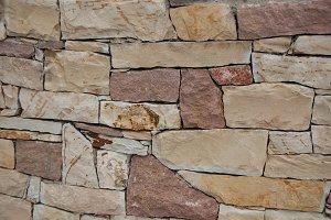 Stone wall / natural