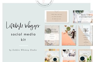 Lifestyle Blogger Social Media Kit