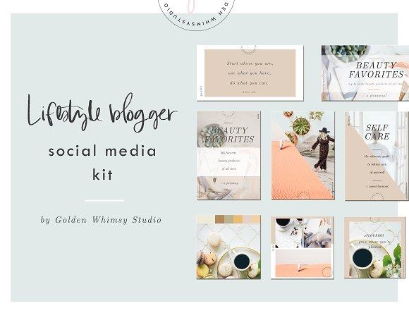 Lifestyle Blogger Social Media Kit