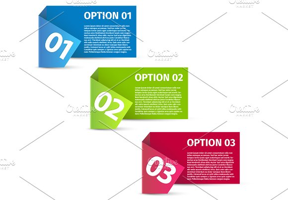 One Two Three Options Template