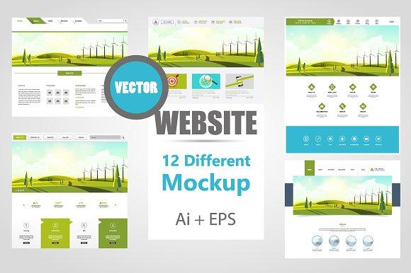 Vector Website Graphics