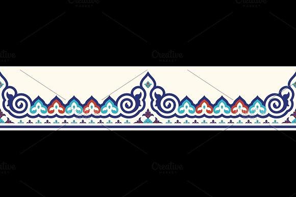 Ottoman Seamless Border