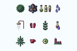 Beauty Spa Icons