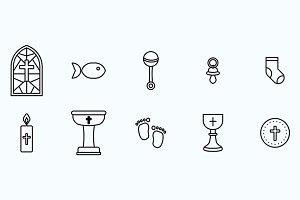 Christening Icons