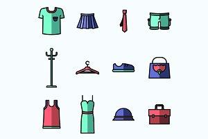 Clothes Shop Icons