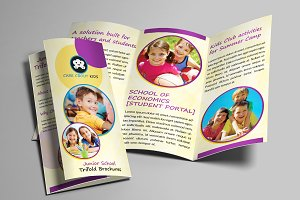 Junior School Trifold Brochures