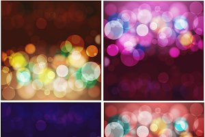 Blur Lights Backgrounds