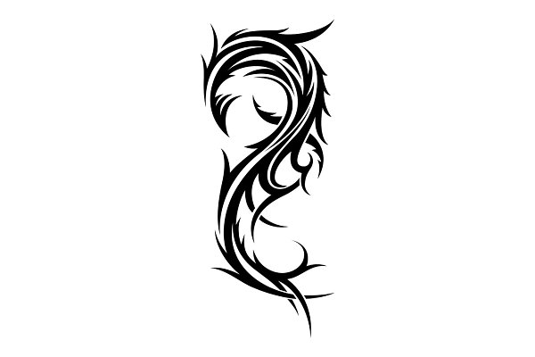 Abstract Tribal Tattoo Design Template Pre Designed Illustrator Graphics Creative Market ✓ free for commercial use ✓ high quality images. abstract tribal tattoo design template
