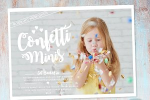 IY001 Confetti Marketing Board