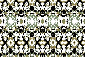 Abstract Camouflage Seamless Pattern