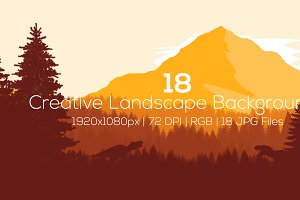 Creative Landscape Backgrounds