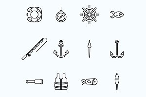 Fisherman Icons