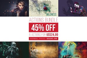 Actions Bundle 45% OFF!