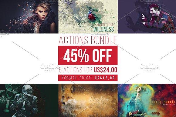 Actions Bundle 45% OFF