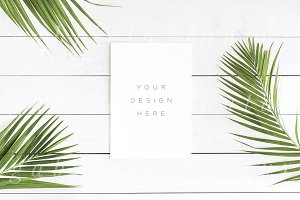 Tropical Styled Stock Mockup