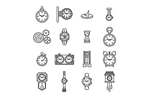Horologist Icons