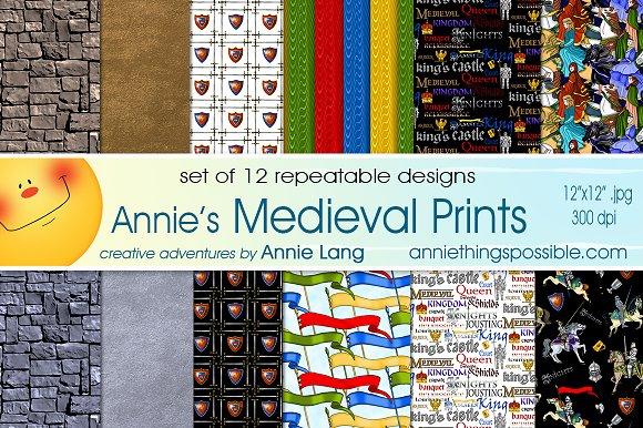 Annie's Medieval Prints