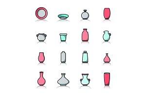 Pottery Studio Icons
