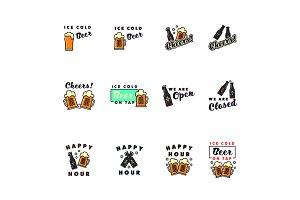 Pub Signs Icons