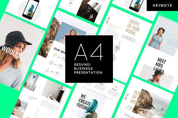 WOULES A4 Printable Keynote