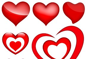 Hearts PNG & Vectors