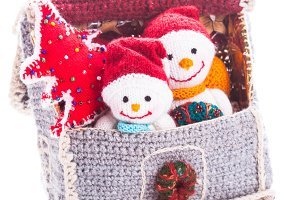 Knitted christmas