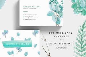 Botanical Garden II Business Card