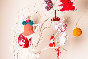 Christmas handmade decor