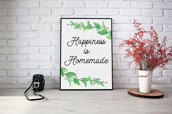Happiness Is Homemade Wall Art