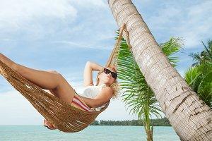girl in tropic
