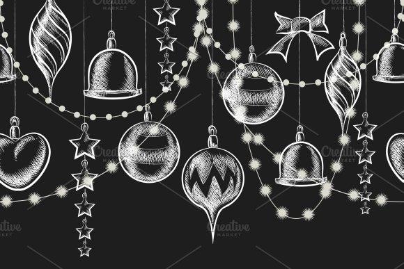 Christmas Chalkboard Ornaments