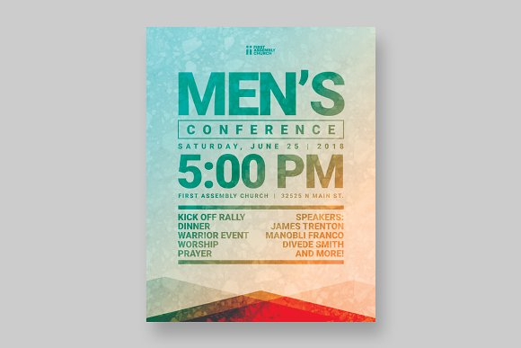 Mens event flyer template flyer templates creative market mens event flyer template flyers pronofoot35fo Image collections
