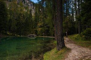 Ghedina lake, Italy